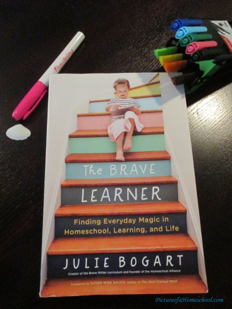 The Brave Learner Julie Bogart homeschool book educational teachers