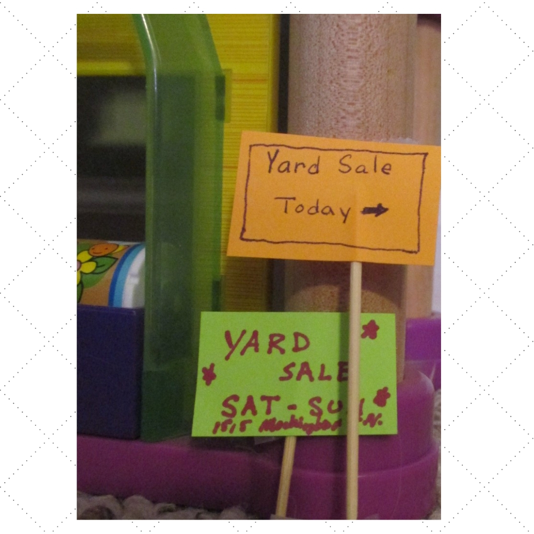 yard sale kid economics money