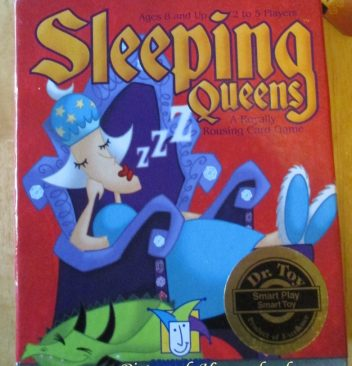 Sleeping Queens Gamewright cardgame mathgame