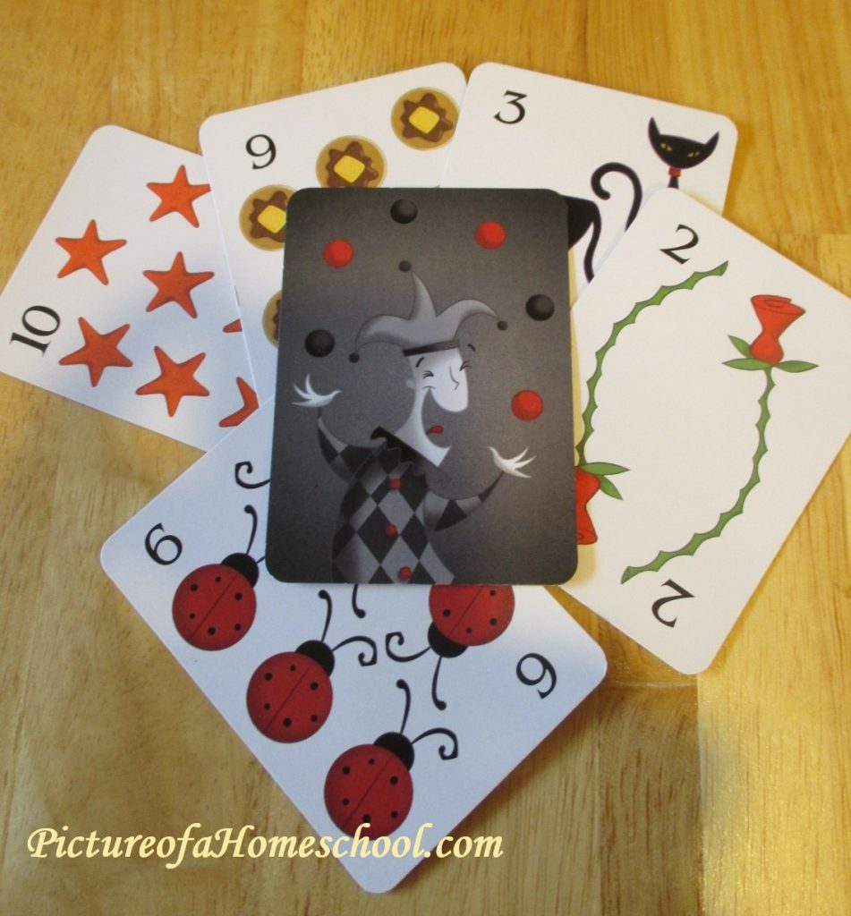 Sleeping Queens cardgame Jester