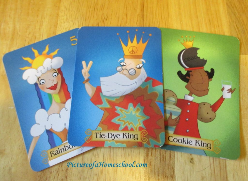 Sleeping Queens Gamewright kings cardgame
