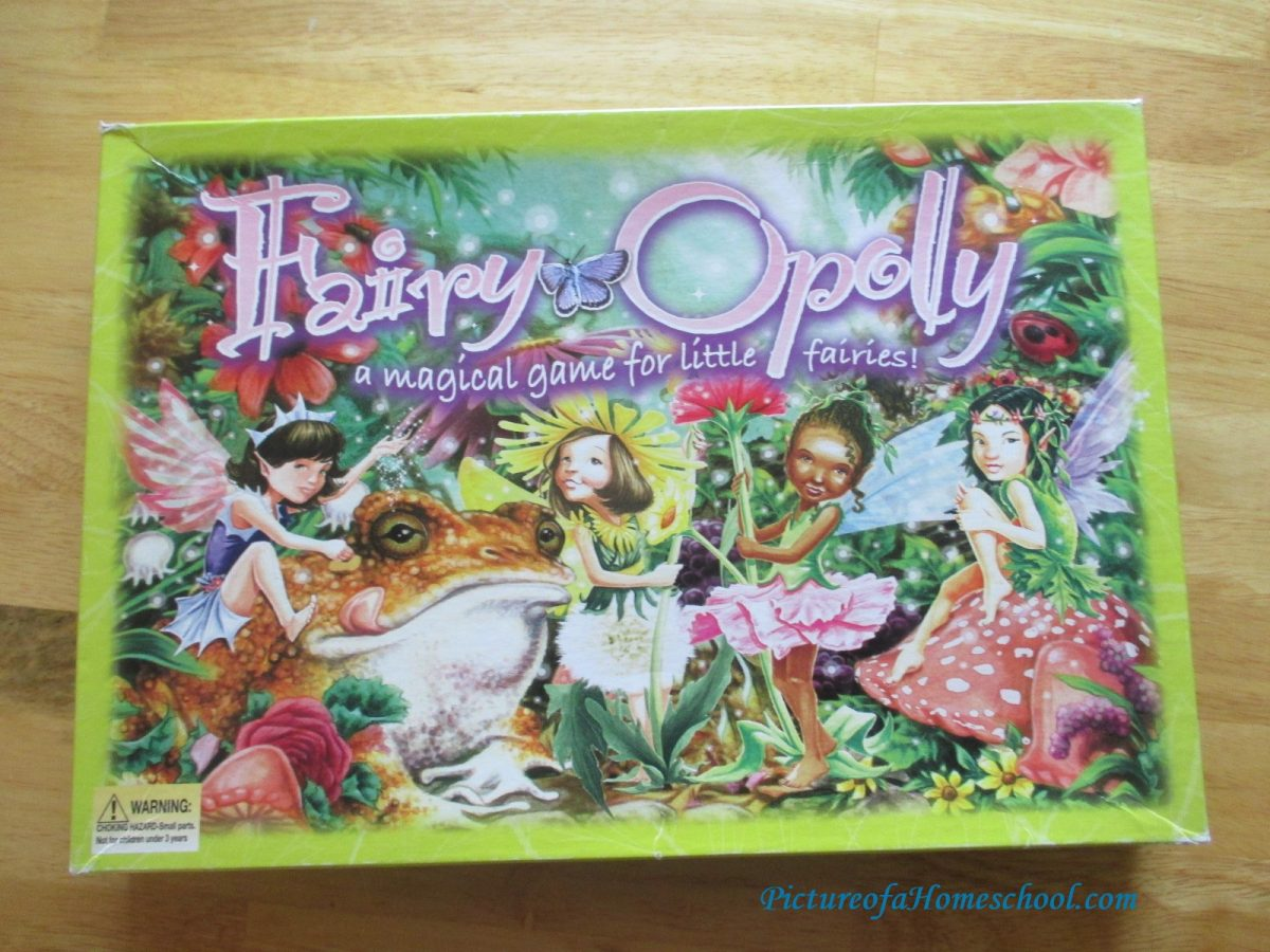 FairyOpoly Monopoly Fairy Game
