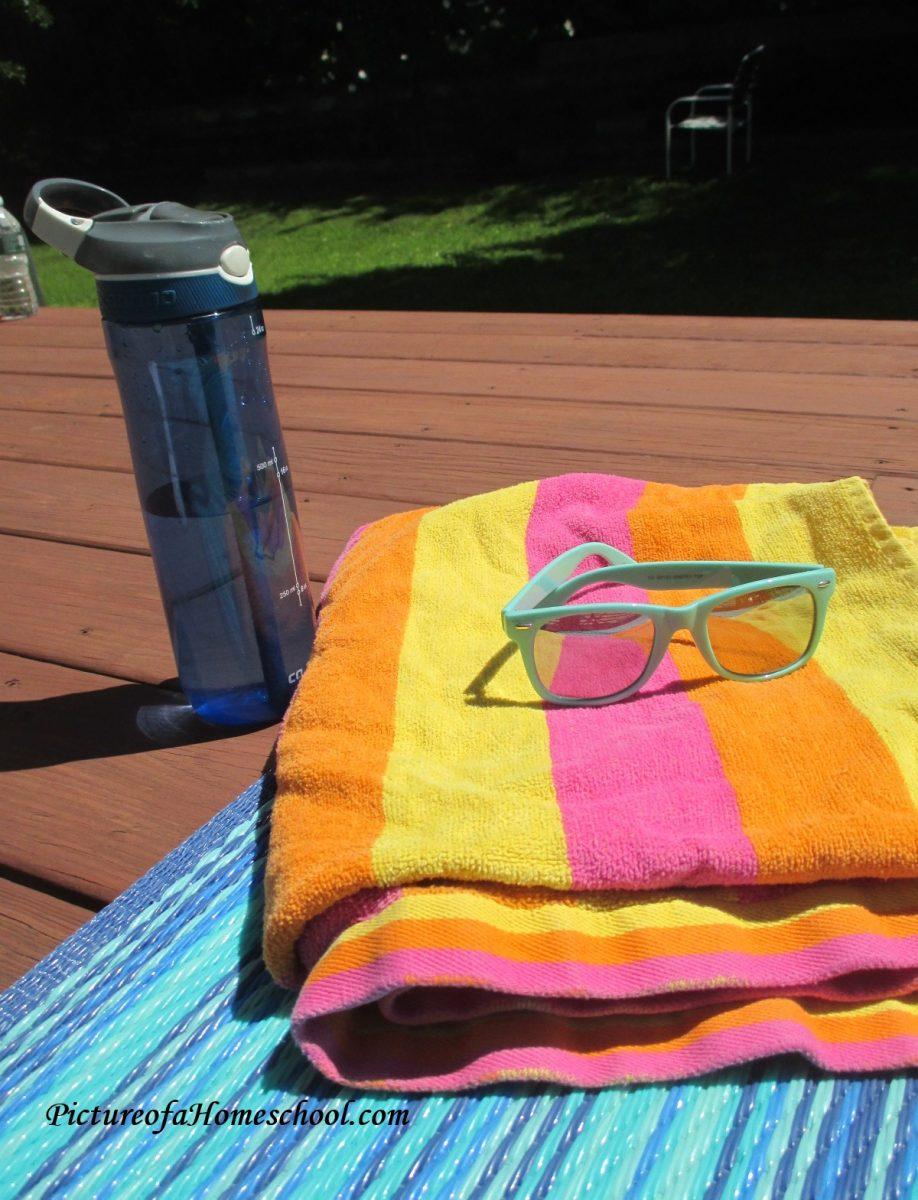 summer backyard staycation