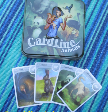 CardLine Animals Science and Math Game