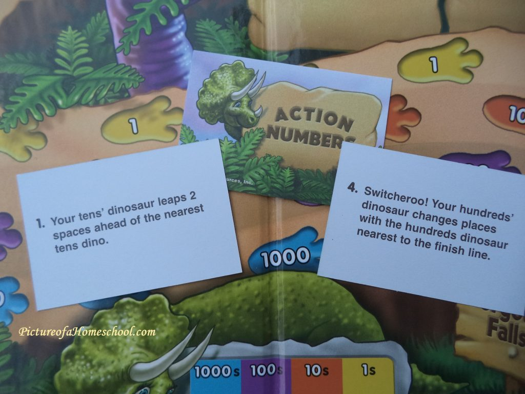 math game placevalue dino educational numbers